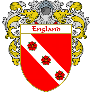 England Family Crest