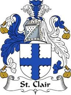 St. Clair Family Crest