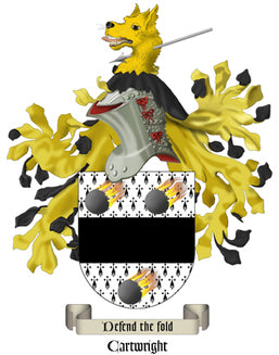 Cartwright Family Crest