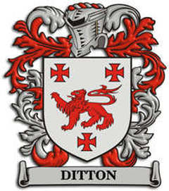Ditton Family Crest