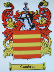 Cambron Family Crest