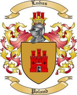Lubas Family Crest