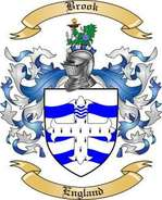 Brook Family Crest