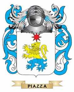 Piazza Family Crest