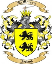 McMorrow Family Crest