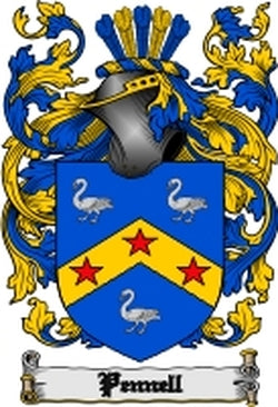 Pennell Family Crest