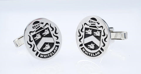 Whitelaw family crest cufflinks