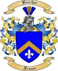 Boucher Family Crest