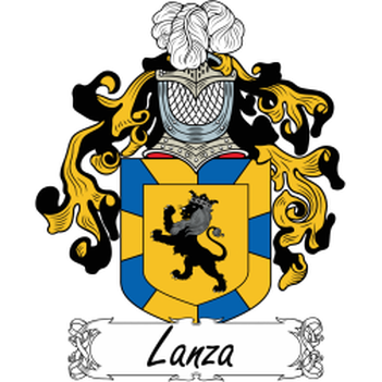 Lanza Family Crest