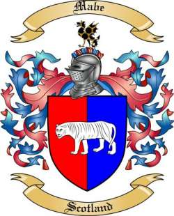 Mabe Family Crest
