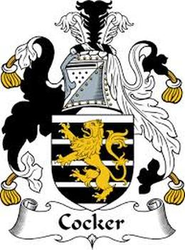 Cocker Family Crest