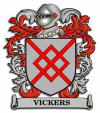 Vickers Family Crest