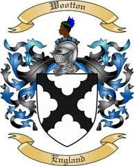 Wootton Family Crest