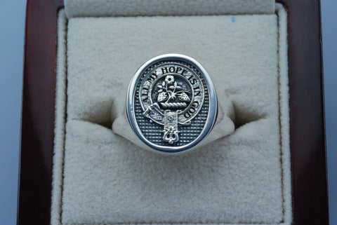 Frazer clan crest ring