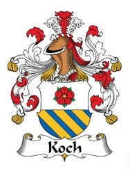 Germany Cook family crest