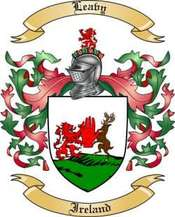 Leavy Family Crest