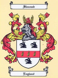 Slocomb Family Crest