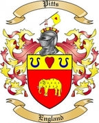 Pitts Family Crest