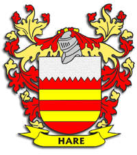 Hare Family Crest