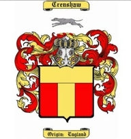 Crenshaw Family Crest