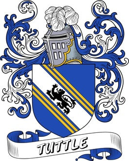 Tuttle Family Crest