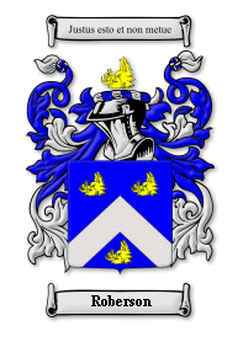 Roberson Family Crest