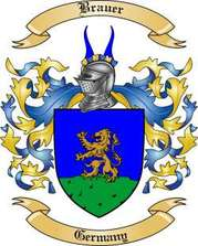 Brauer Family Crest
