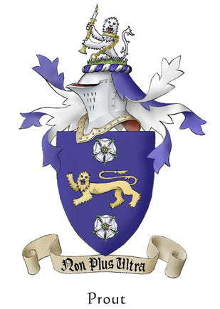 Prout Family Crest