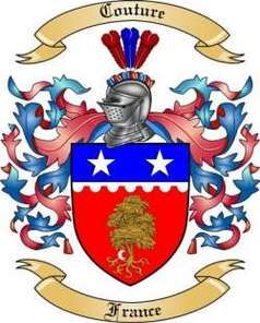 Couture Family Crest
