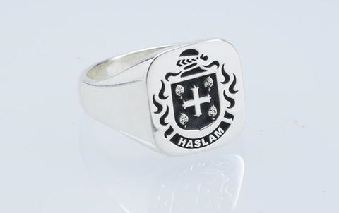 Haslam Family Crest ring