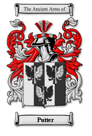 Putter Family Crest