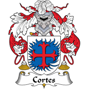 Cortes Family Crest