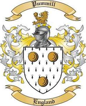 Pummill Family Crest
