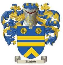 Benedetto Family Crest
