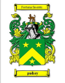 Pudsey Family Crest