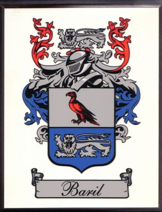 Baril Family Crest