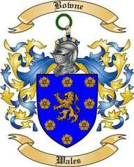 Bowne Family Crest