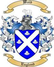 Waid Family Crest