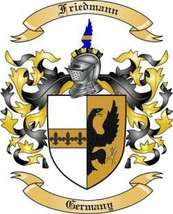 Friedmann Family Crest