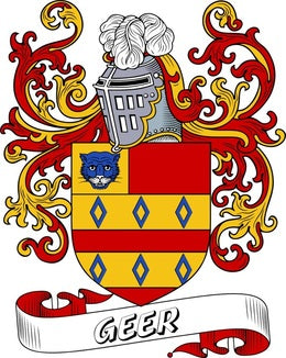 Geer Family Crest