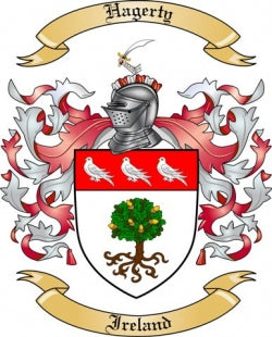 Hagerty Family Crest