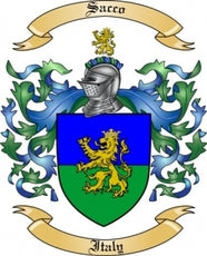 Sacco Family Crest