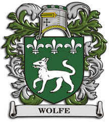 Wolfe Family Crest