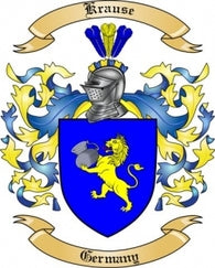 Krause Family Crest