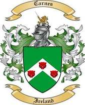 Carnes Family Crest