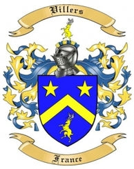 Villers Family Crest