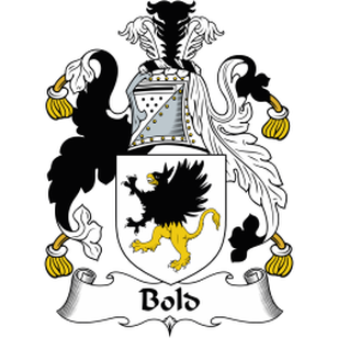 Bold Family Crest