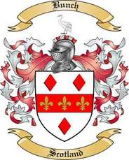 Bunch Family Crest