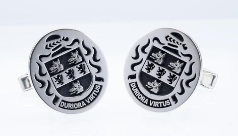 Wyatt family crest cufflinks