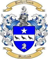 Rutherfoord Family Crest